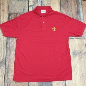 Boy Scouts of America Red Polo by Great American